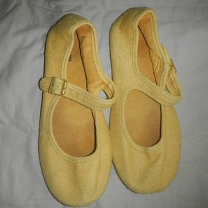 Yellow Mossimo shoes